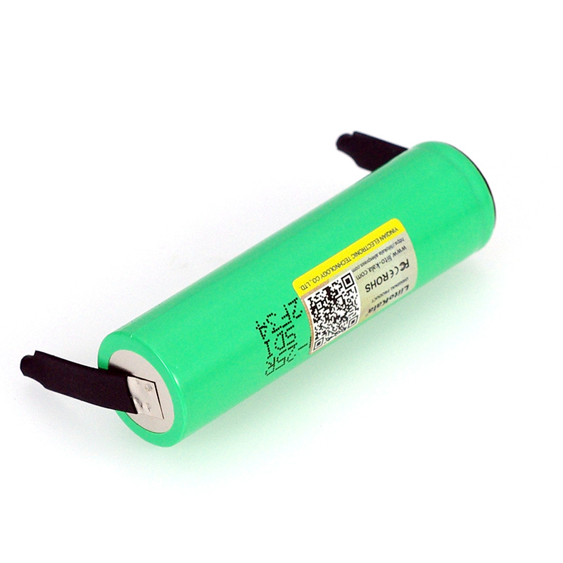 Image 3 - LiitoKala New Original 3.7V 18650 2500mAh battery INR1865025R 3.6V discharge 20A dedicated batteries + DIY Nickel sheet-in Replacement Batteries from Consumer Electronics