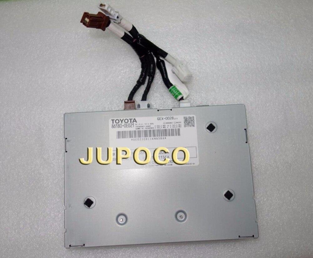New Original Car Navigation LCD Modules For Toyota 86180 0E021 GEX 0028