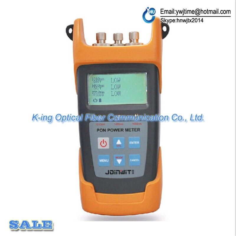 Compteur de puissance optique JW3213 PON 1260nm ~ 1360nm/-40dBm ~ + 10dBm FTTx PON testeur de Fiber optiqueCompteur de puissance optique JW3213 PON 1260nm ~ 1360nm/-40dBm ~ + 10dBm FTTx PON testeur de Fiber optique