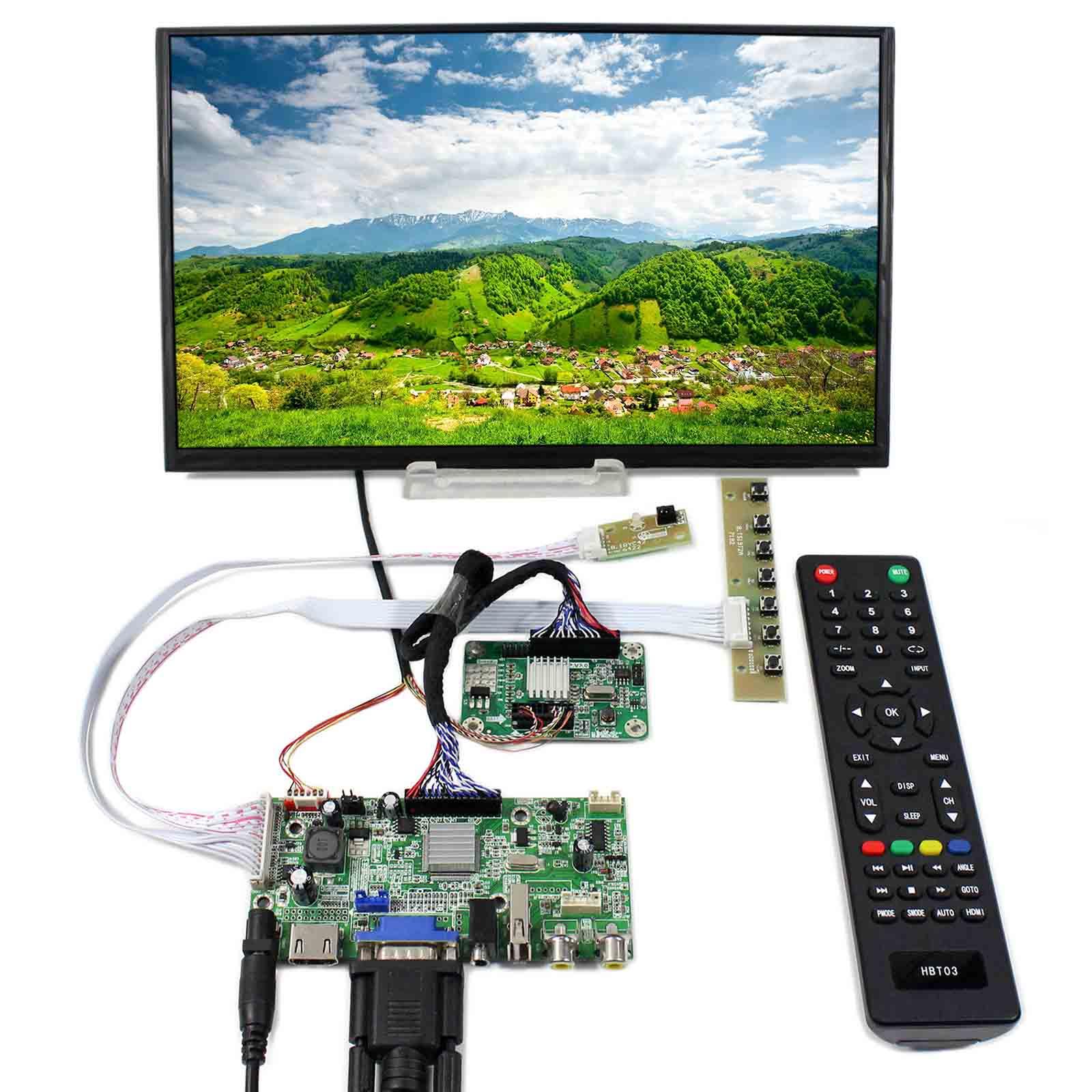 HDM VGA 2AV USB LCD Controller board 11.6inch 1920x1080 M116X40 30Pin LCD Screen hdm vga usb lcd controller board with 13 3inch 1920x1080 n133hse ips lcd screen