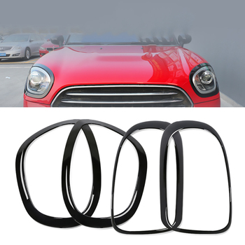 Car Headlight Head Tail Rear Lamps Frame Ring Covers Stickers Housing For Mini Cooper One JCW F54 F60 Car-styling Accessories