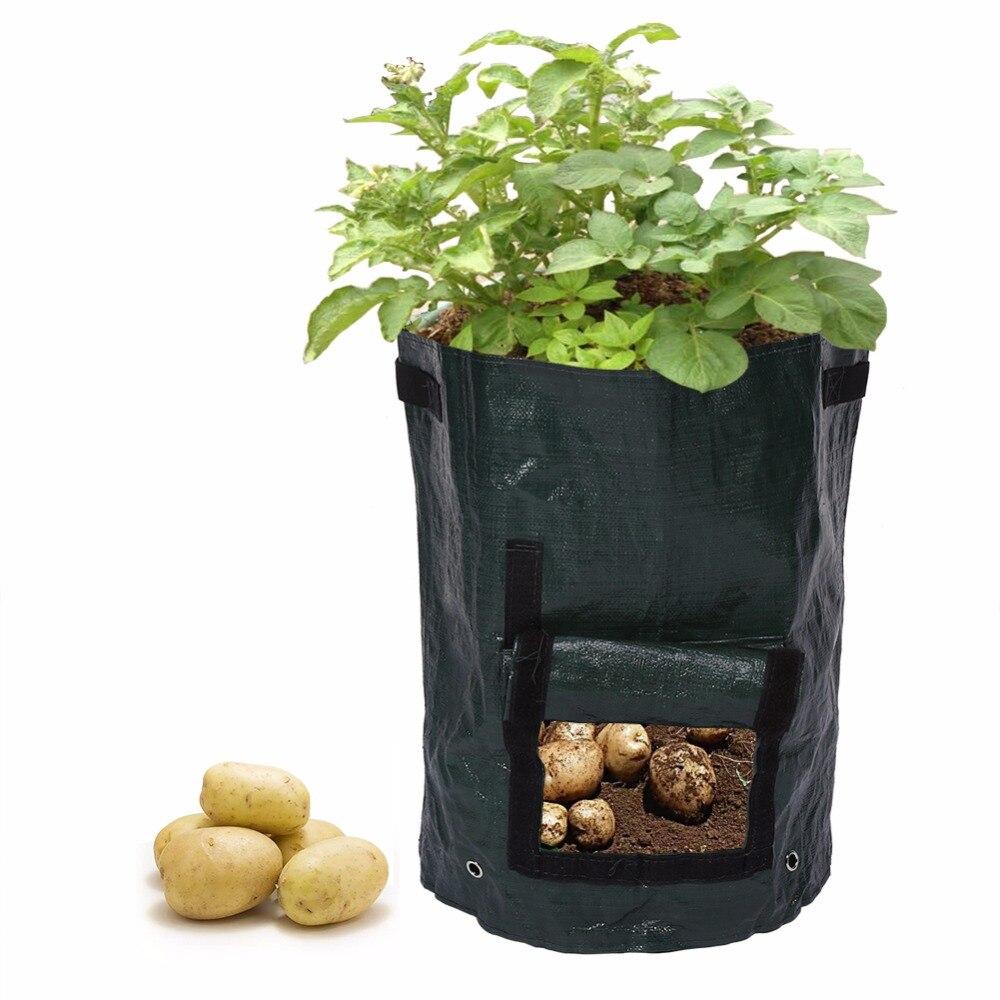 font b Potato b font Grow font b Planter b font PE Planting Container Bag