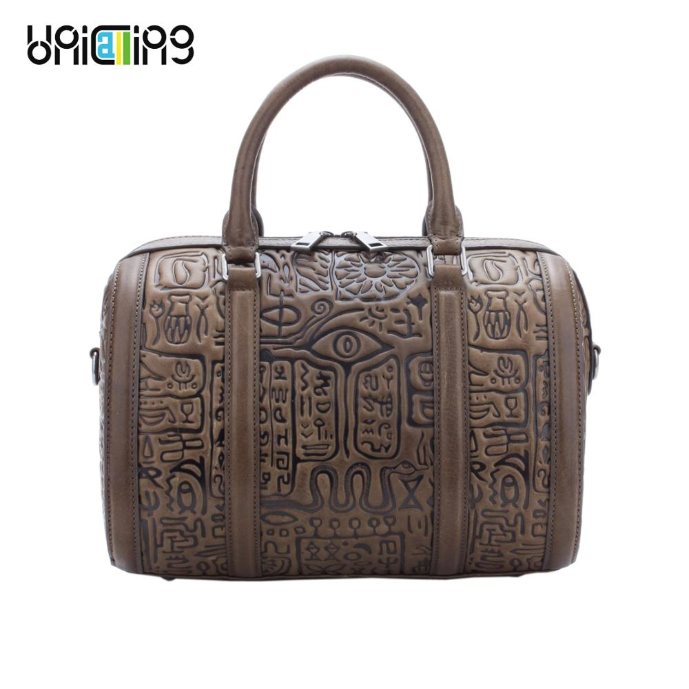 UniCalling leather handbag women retro quality genuine leather women bag fashion female bagUniCalling leather handbag women retro quality genuine leather women bag fashion female bag