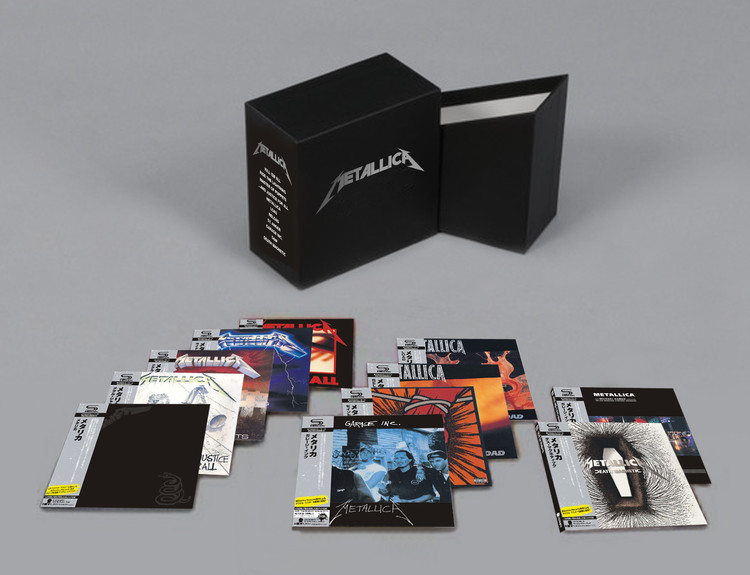 BRAND NEW METALLICA COMPLETE SEALED BOX SET 13CD JAPAN ALBUM HEAVY METAL CD THE BEST QUALITY DROPSHIPPING WELCOME! the metallica album collection 13 album cd box set sealed japanese version ultimate deluxe edition 13cd new sealed