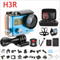 Go-pro стиль Спорт Cam Оригинальный 4 К H3R Действий Камеры Ультра 1080 P HD 4 К Wi-Fi Пульт Дистанционного двойной экран 2.0 ''+ 0.95'' 170D водонепроницаемый 30 М