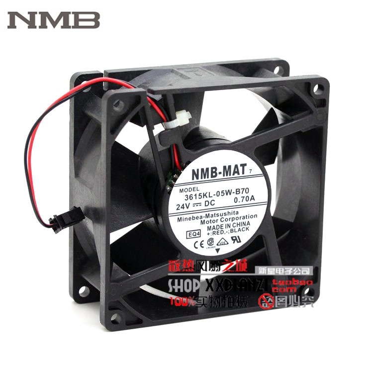 NMB 3615KL-05W-B70 24V 0.7A 9cm dedicated drive ACS510/550 inverter fan genuine spare parts abb acs800 90 90 38mm 24v 0 32a 2 line waterproof fan pq1 3615 kl 05w b50