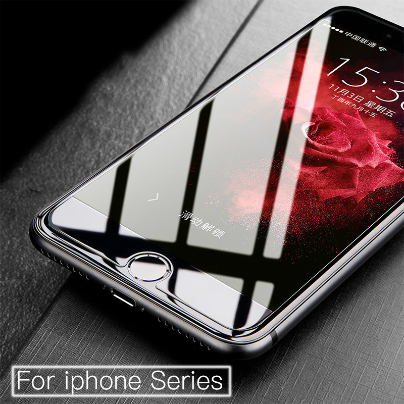 2018 new tempered glass screen protector for iphone7plus 9H 2.5D Explosion-proof film for iphoneX 6 6s 6plus 8 8plus