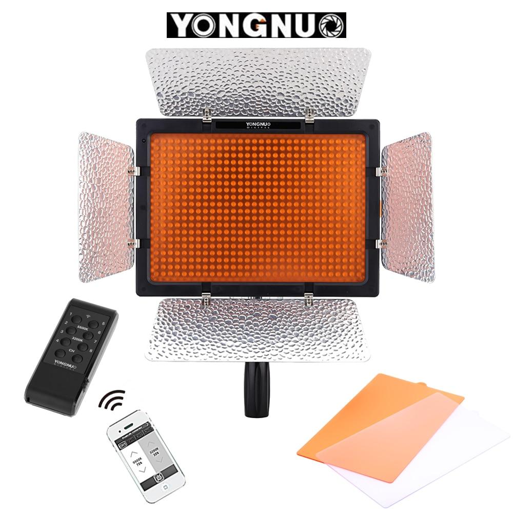 Yongnuo YN 600L II 600 Led videoleuchte 5500 Karat Fotografie Licht Lampe + Drahtlose Fernbedienung für Canon Nikon Sony Pentax Olympus DSLR-in Fotolampen aus Verbraucherelektronik bei  Gruppe 1