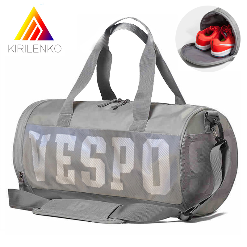 Outdoort Women Sports Gym Bags Wet Dry Separation Swimming bags Fitness Shoulder Bag Women Travel Handbag Training Duffle Ba