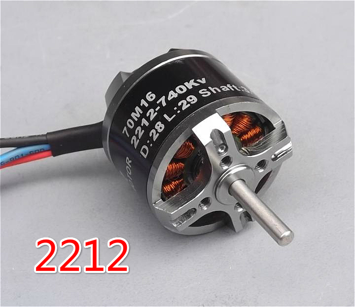 14.8V 2212-740KV axis fixed-wing model aircraft brushless DC motor  DIY model aircraft brushless motor