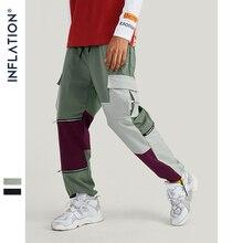 Trousers Men Streetwear Cargo-Pants Multiple-Pockets Winter New-Fashion Autumn FLAT 93318W