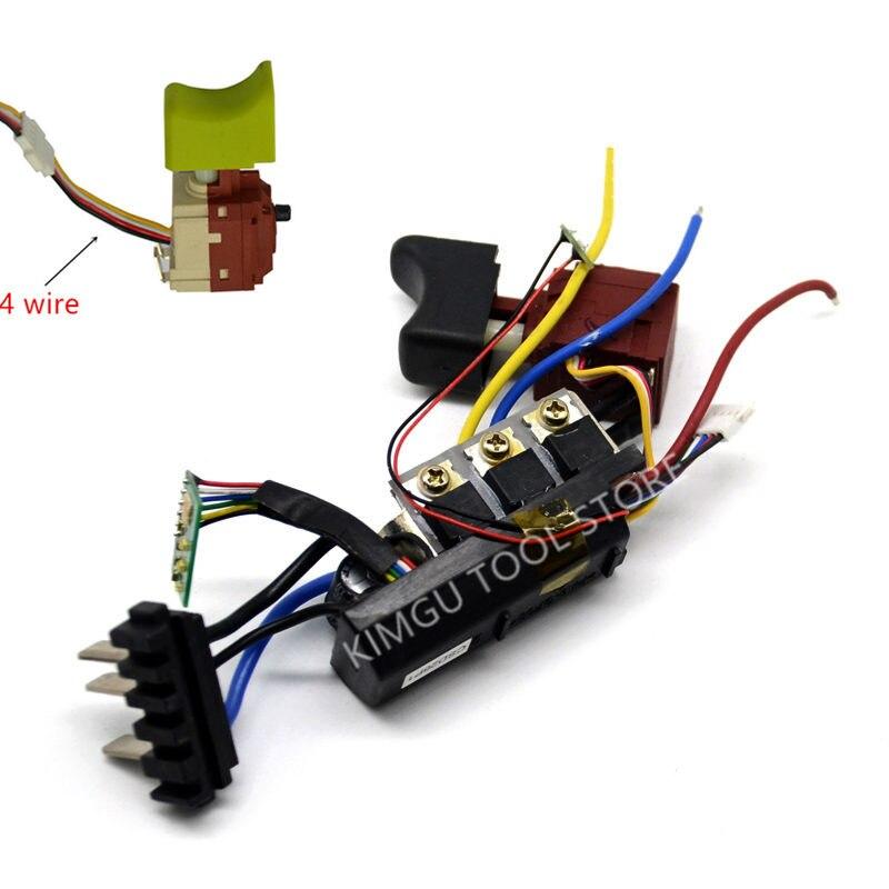 Switch 50028392 For WORX  WU278 WX278  WU278S WU292 20V WX279.9 WX279 WU278.1 Drill  Control Board