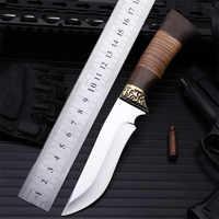 2018 nowa gorąca sprzedaż odkryty naprawiono taktyczne walki wojskowe nóż wysokiej jakości Camping Survival nurkowanie ostre noże myśliwskie narzędzia