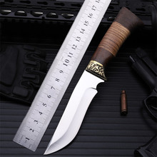 2018 New Hot Sale Outdoor Fixed Tactical Combat Military Knife High Quality Camping Survival Diving Sharp Hunting Knives Tools