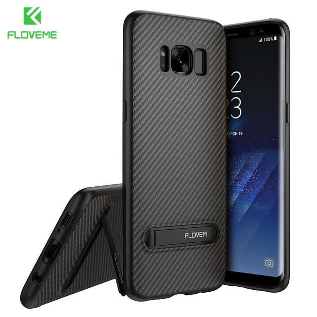 promo code 0c8a9 4561a FLOVEME Case For Samsung Galaxy S9 S8 Note 8 Luxury Cases Kickstand Silicon  Phone Cover For Samsung S8 Plus Galaxy S7 Edge Case