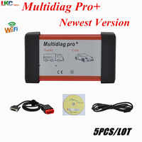 5pcs/lot Best Single Board Multidiag pro+ TCS VCI 2016.00 Keygen For Car&Truck multidiag bluetooth with high performance