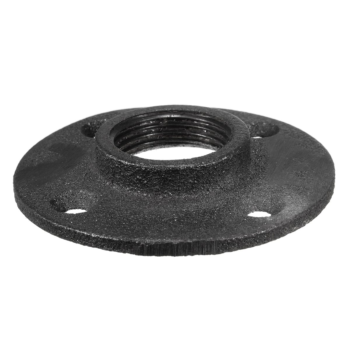 industrial furniture hardware. New 1\u0027\u0027 Black Malleable Threaded Floor Flange Iron Plumbing Pipe Fitting Repalcement Industrial Furniture Hardware Tool-in Flanges From Home Improvement On L