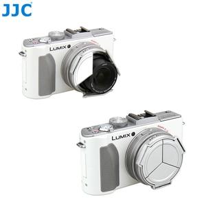 Image 2 - JJC Camera Silver Open Close Automatic  Self Retaining Protector Auto Lens Cap for PANASONIC DMC LX5 & Leica D Lux5 (silver)
