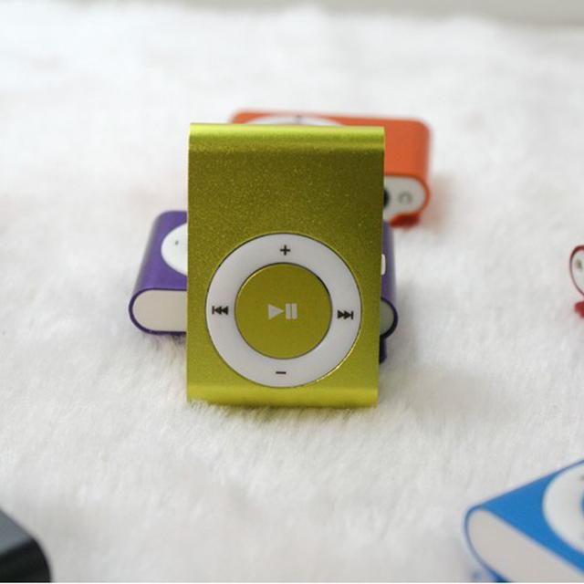 Mirror Portable MP3 Player Mini Clip MP3 Player Waterproof Sports Sport MP3 Music Player Walkman Lettore MP3 NEW Big Promotion
