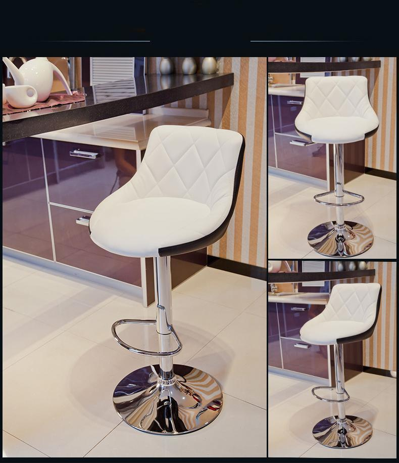 bar stool coffee house chair white black seat free shipping rotation lifting chair public house stool bar coffee ktv room chair free shipping black blue white color seat