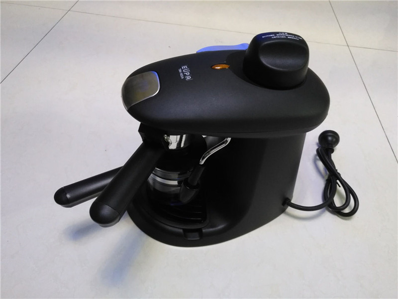 TK 184 8,Free shipping,,household pumped semi automatic coffee maker, espresso high pressure steam,coffee machine,with EU plug