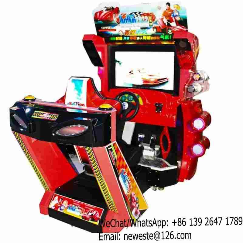 Outrun Simulator Arcade Racing Car Game Machine-in Coin