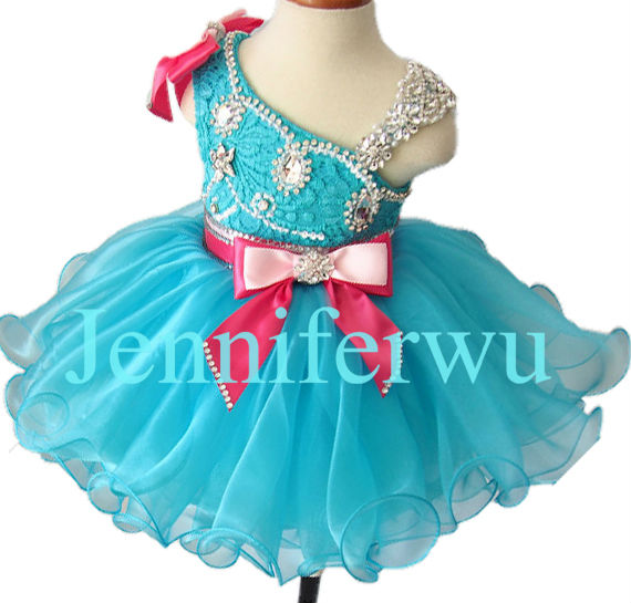 glitz girl brand clothes girl dresses baby girl pageant dresses flower girl dresses 1T-6T EB2008B