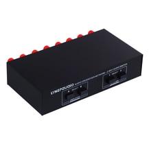 2 входа 2 выхода пассивный переключатель усилитель громкоговорителя компаратор аудио селектор