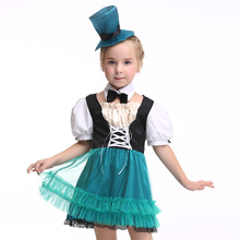 Cosplays Children Costume Fancy Princess Dress New Year Halloween Christmas Costumes for Kids Party Dresses EK167