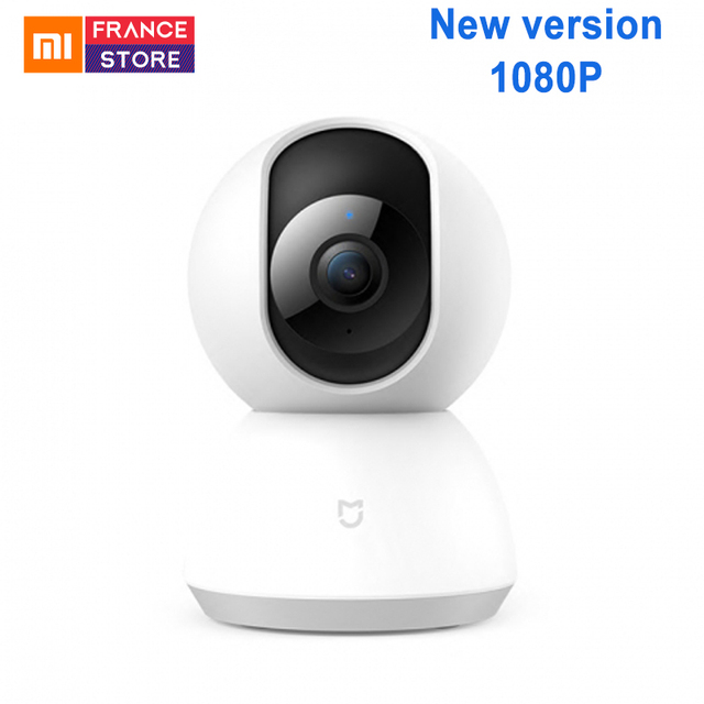English Version Xiaomi Mijia Smart Camera Cradle Head Version 1080P 360 Degree Webcam IP Cam Camcorder