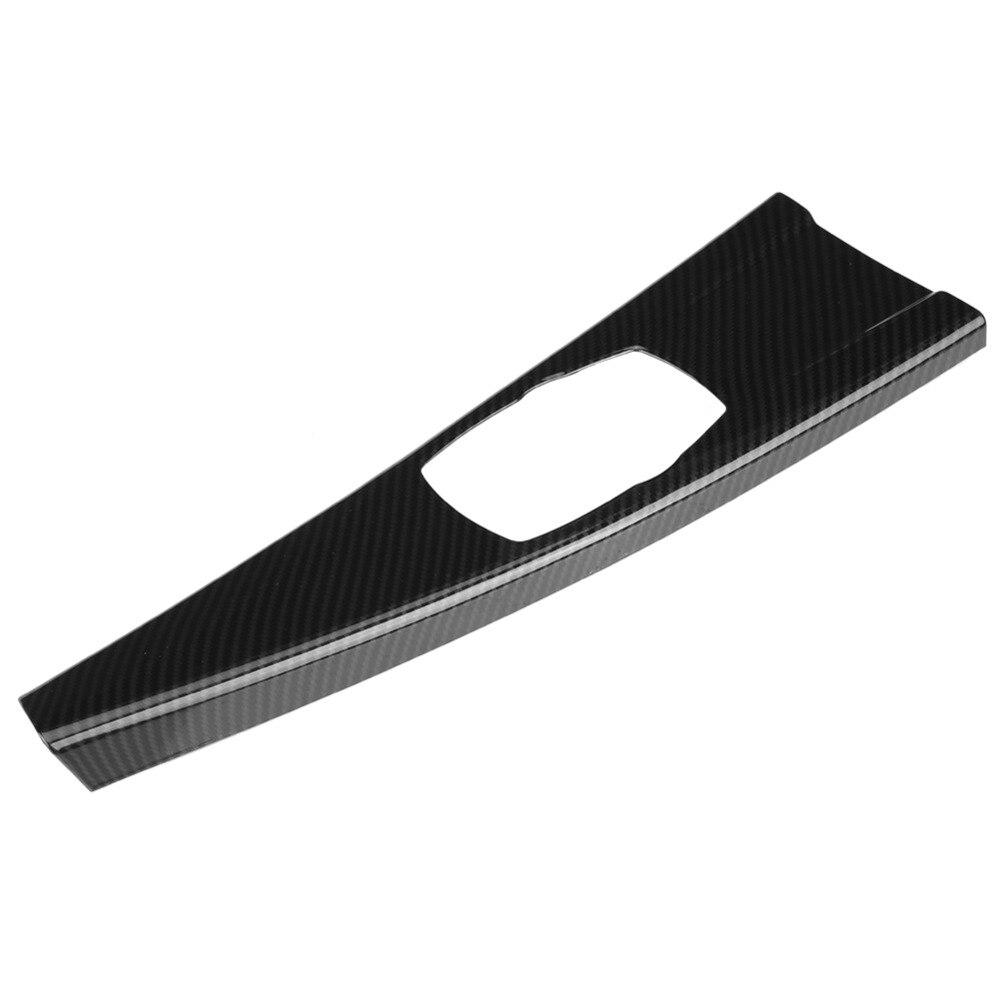 ABS Cubierta del panel de cambio de engranaje de control central de la fibra de carbono para 3 Series F30 GT F34