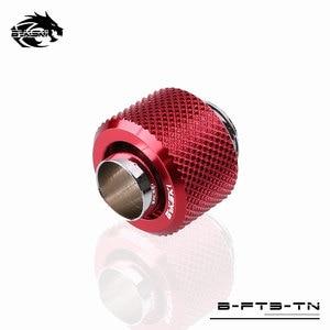 Image 5 - Bykski דוקרני צינור הולם, 3/8 גמיש צינור מחבר, יד Conpression 9.5X12.7mm מים צינור G1/4 שימוש B FT3 TN