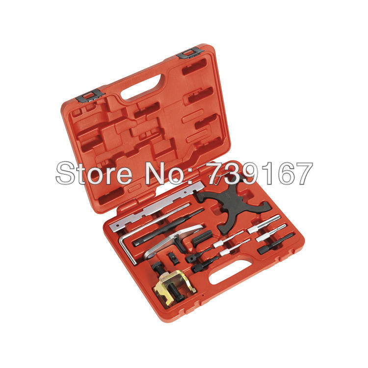 Engine Timing Camshaft Locking Alignment Combination Tool Set For Ford Land Rover Mazda Volvo ST0076 gorst car automobiles intake exhaust pressure sensor for ford focus galaxy jaguar xj land rover mazda 3 volvo 3m5a 5l200 ab