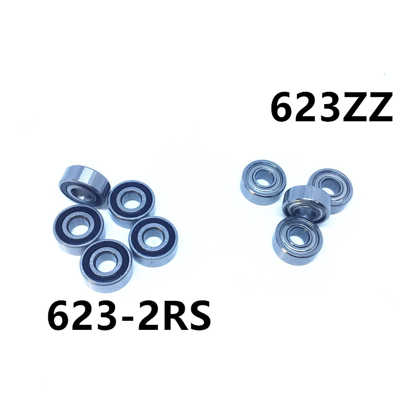 623ZZ bearing 623-ZZ ABEC-7 Miniature deep groove ball bearing 623 2Z ZZ bearing 623ZZ 623-2RS R-1030ZZ 3*10*4mm gcr15 6036 180x280x46mm high precision deep groove ball bearings abec 1 p0 1 pcs