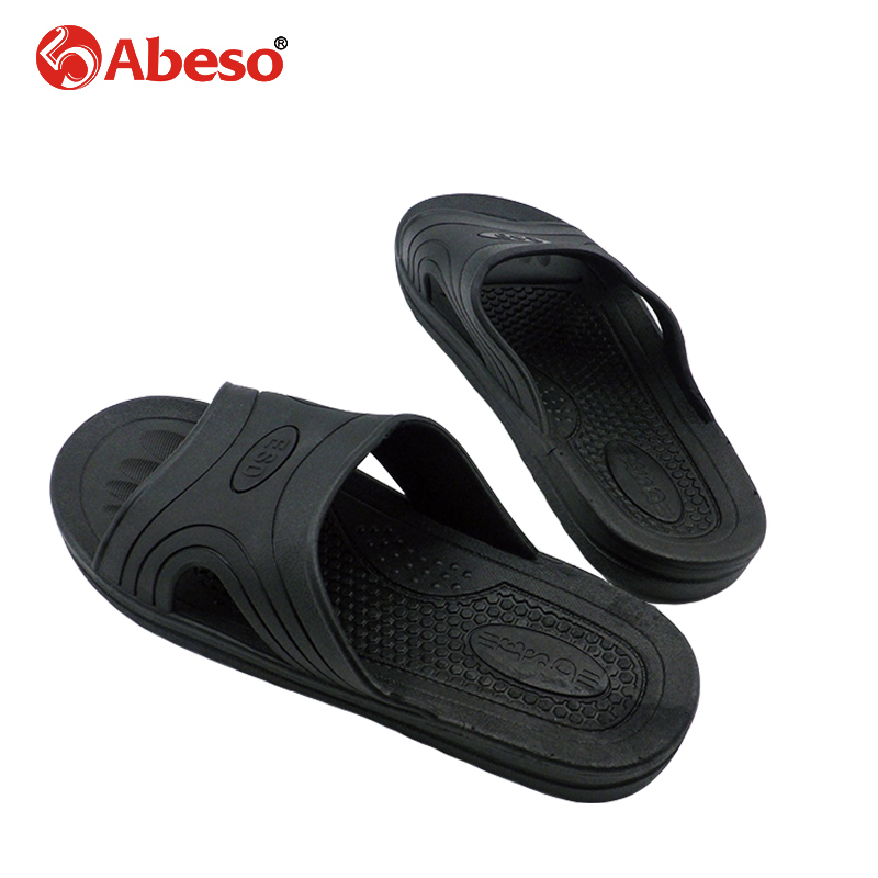 Abeso Safty Shoes Men Anti-static Slip-on Breathable Durable Soft Hole PU Slipper Women A8625Abeso Safty Shoes Men Anti-static Slip-on Breathable Durable Soft Hole PU Slipper Women A8625