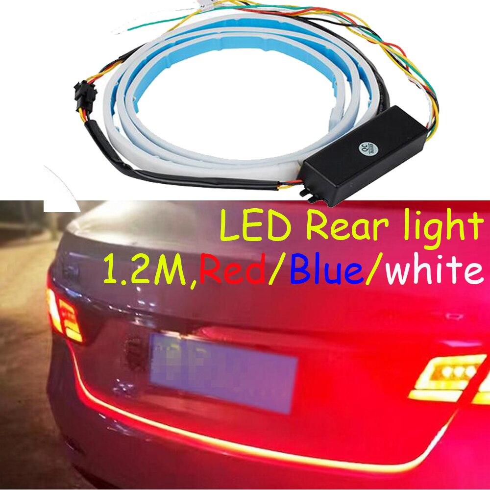 Universal LED Rear light 1 2M LED corolla taillight Hiace Camry polo RAV4 Tiguan sportage sonata
