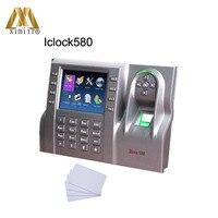 Gute qualität 3 5 zoll touchscreen Iclock580 TCP/IP fingerprint & IC zeit teilnahme und access control optional GPRS WiFi|tcp ip|screen touchgprs controller -