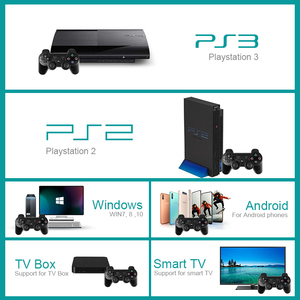 Image 3 - נתונים צפרדע אלחוטי משחק Gamepads עבור PS3/PS2 בקר ג ויסטיק עבור Playstation2/3 Gamepad עבור Windows אנדרואיד חכם טלוויזיה/טלוויזיה תיבה
