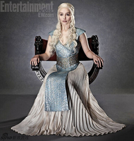 Nueva llegada athemis dress juego de tronos daenerys targaryen cosplay disfraces sexo sin mangas dress larga falda azul