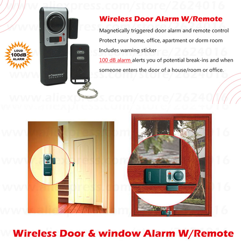 Doberman Security Home Security System Alarm With One Wireless ...