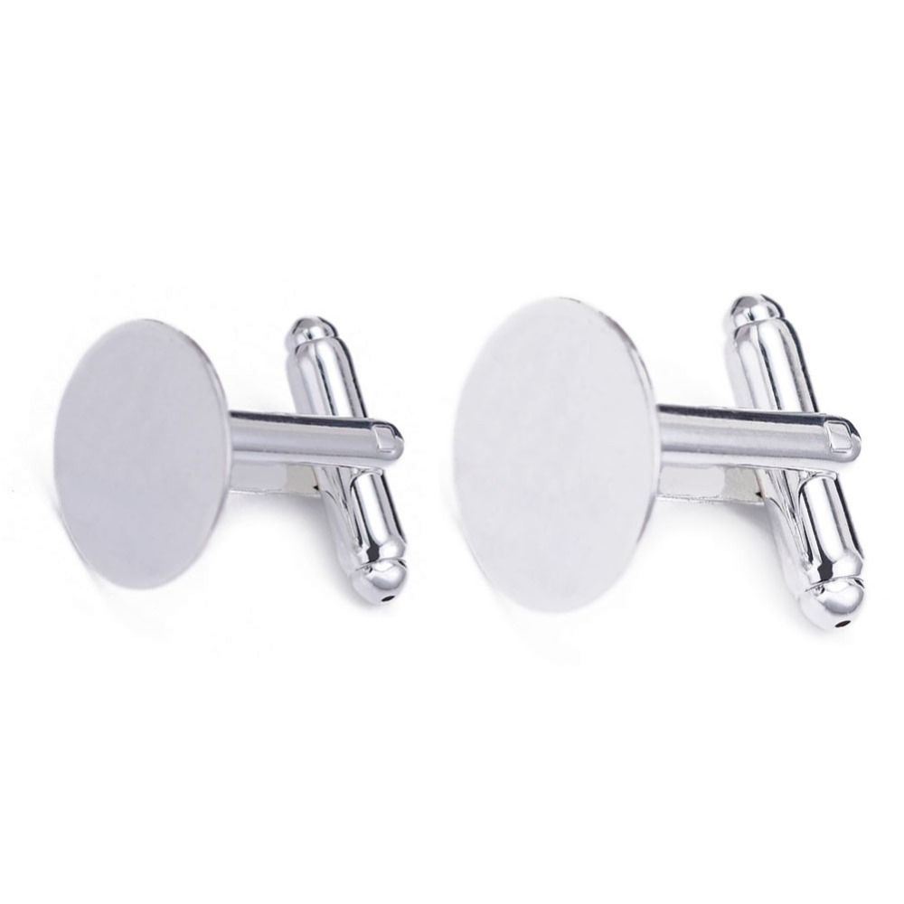 0.8 Tall - Standard Size CustomCufflinks Cufflinks Number 22 Silver Plated Jersey Style