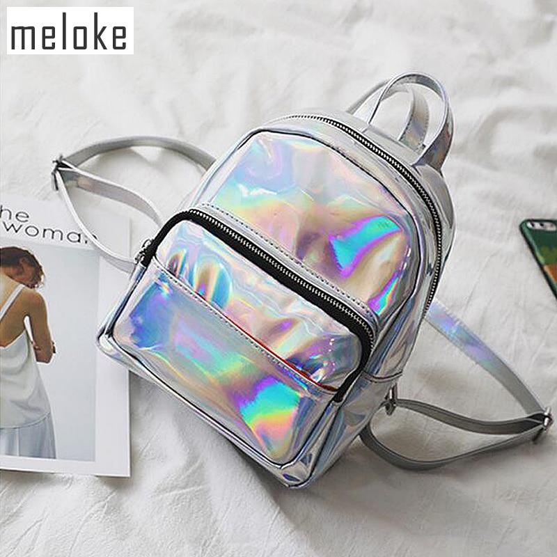 Backpack, School, Multi, Girls, Women, Laser