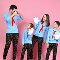 Девушки женщин футболка каваи семья посмотрите плюс размер футболки соответствия мать дочь одежда отец сын наряды мама и я наборы
