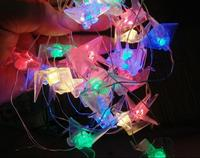 LED home string light decoration holiday coloured light battery box 1.5m 10 led