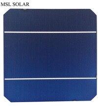 MSL SOLAR 125mm *125mm monocrystalline solar cell 2.8W A Grade The toppest quatliy 40pcs/Lot 5×5 mono solar cell panel