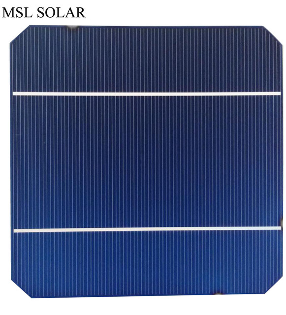 MSL SOLAR 125mm *125mm monocrystalline solar cell 2.8W A Grade The toppest quatliy 40pcs/Lot 5x5 mono solar cell panel