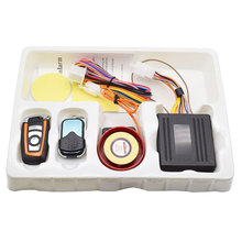 MC02-A 12V 125db Waterproof Motorcycle Anti-theft security Alarm System with Engine Remote Control Start Function Motor bike