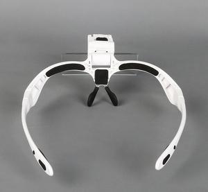 Image 3 - 1.0X 1.5X 2X 2.5X 3.5X Led Verlichte Portable Goggle Glazen Stijl Reading Reparatie Vergrootglas Loupe Medisch Vergrootglas