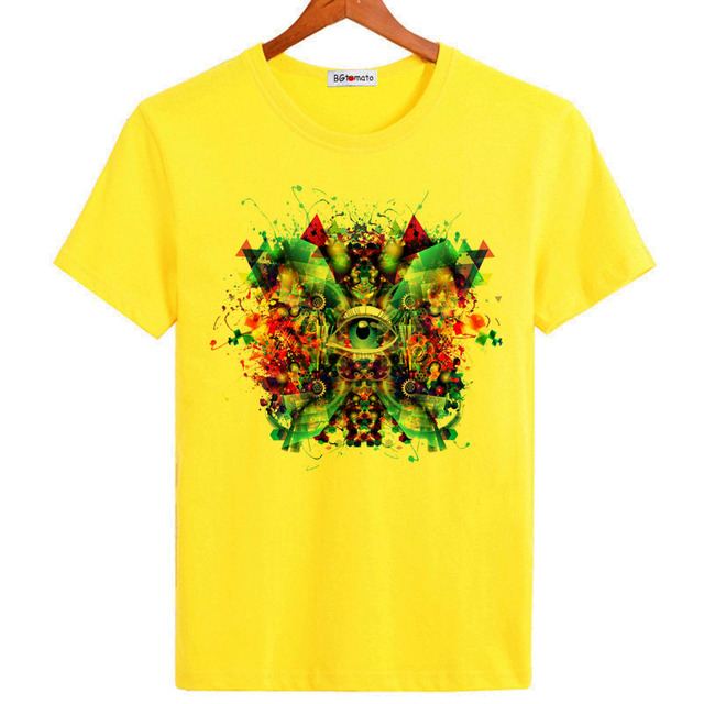 BGtomato 3D printing Magic eye t shirts super man designer value ...