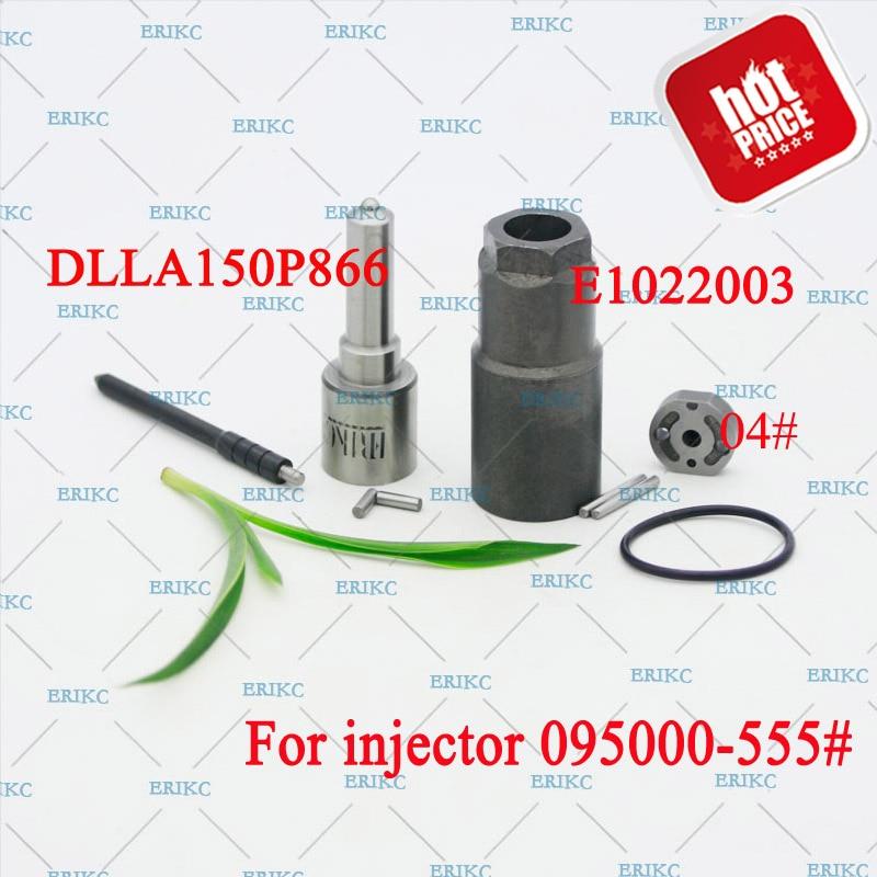 ERIKC 33800 45700 Diesel Injector Overhaul Repair Kits Nozzle DLLA150P866 Valve Plate Pin Sealing Ring For